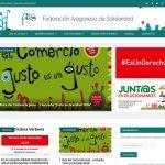 aragonsolidario.org - Portada Federación Aragonesa de Solidaridad