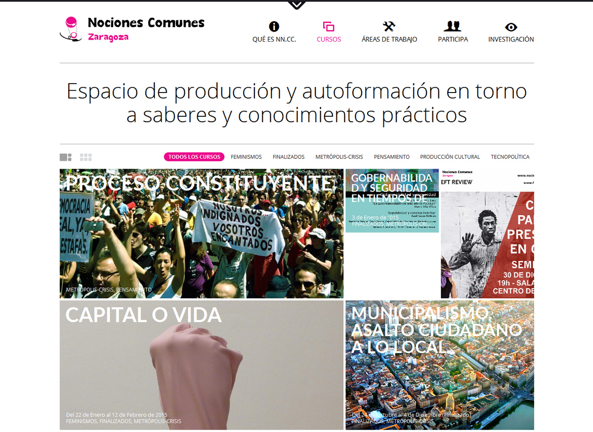 NOCIONESCOMUNESZARAGOZA.NET